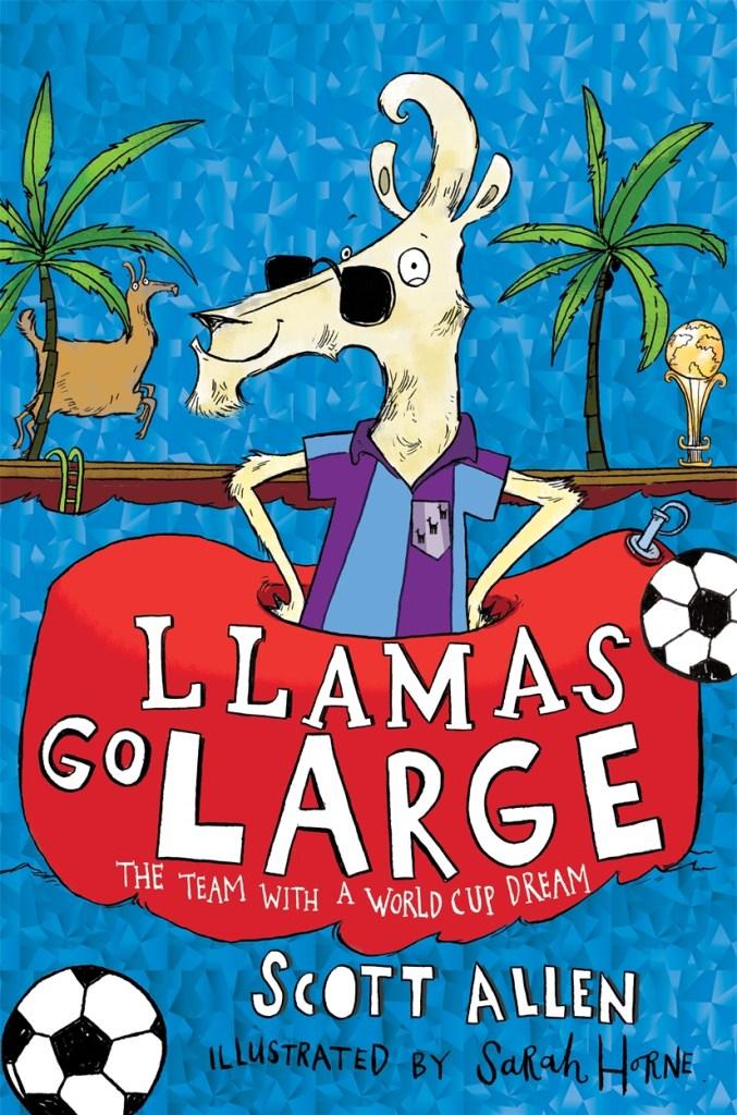 Llamas Go Large cover