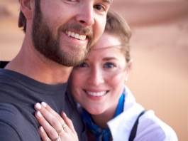 David Cowden and Erin Framel