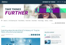 Scott Amyx Featured on Telefonica on IoT