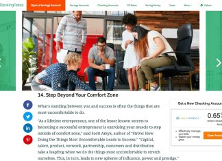 Scott Amyx Quoted on GoBankingRates on Step Beyond Comfort Zone