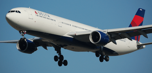 Delta A330 - A Skyteam Member