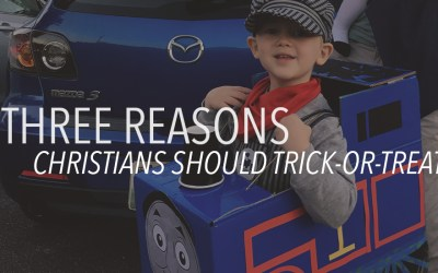 3 Reasons Christians Should Trick-or-Treat