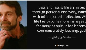 Existential-Humanistic Therapy with Kirk Schneider