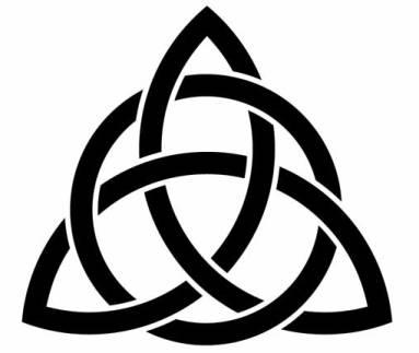 classic-trinity-knot-tattoo-stencil