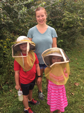The apiary was a big attraction