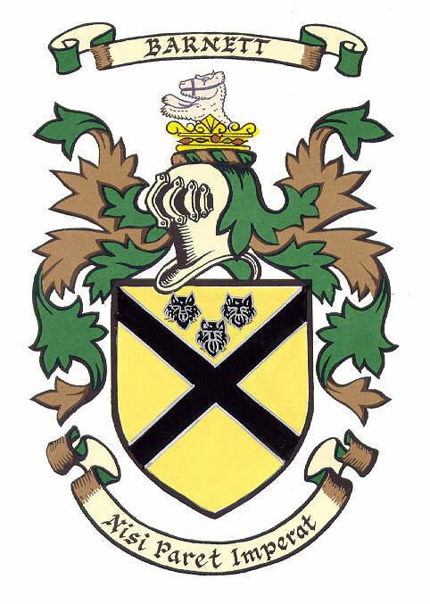 BARNETT Family Crest