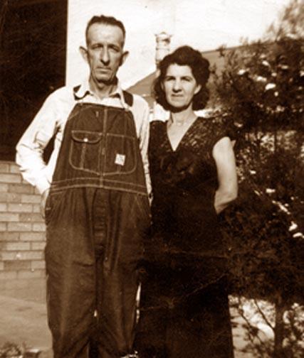 George HAWKINS & Della GRAHAM