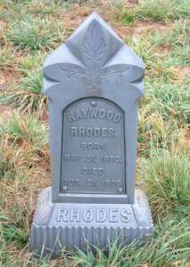 James Haywood RHODES Sr