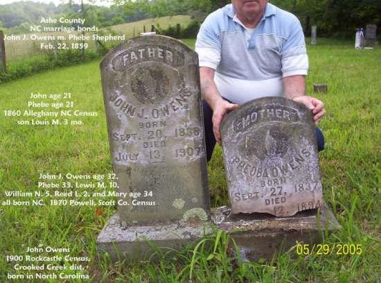 John and Phoebe SHEPHERD OWENS