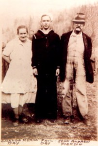 Amanda PIERSON DAY, Paul DAY and John Andrew PIERSON