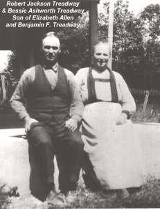 Robert Jackson Treadway and Bessie Ashworth