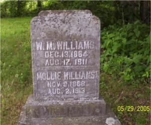 W. M. & Mollie WILLIAMS