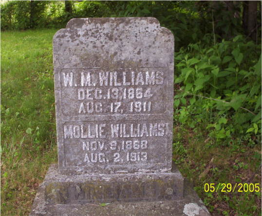 W. M. & Mollie WILLIAMS
