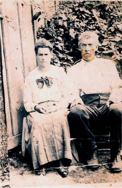 Henry PRESLEY and his second wife Dicy DARNELL