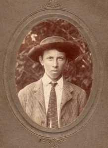 John Washington CARTER, 1905