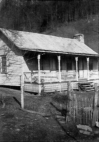 TAYLOR RHODES Home place, Scott County Virginia