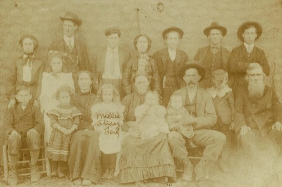 William H. Brickey family