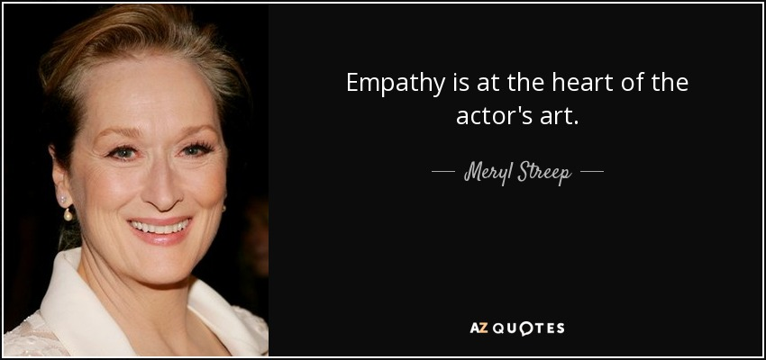 Think Acting Is About Emotional Empathy? Science Says No.