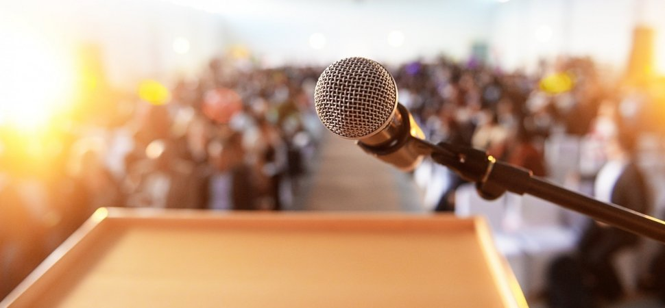 Everything You've Been Taught About Public Speaking is a Myth