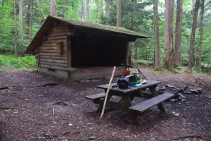 Beck Hollow Lean-to