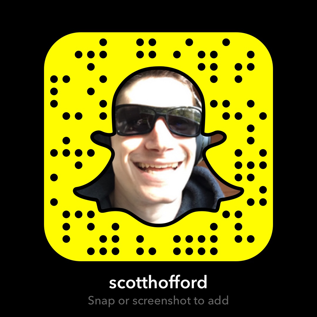 Snapchat Profile: scotthofford