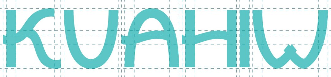 Kuahiwi Lettering Grid