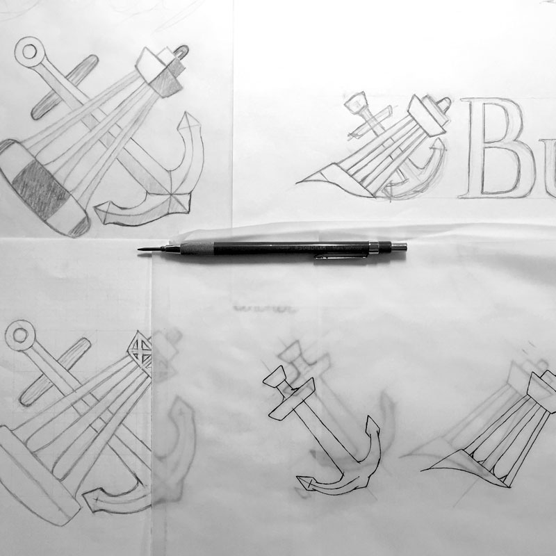 Buoy & Anchor Logo Refinement
