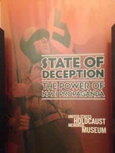Nazi Propaganda Poster LAPL
