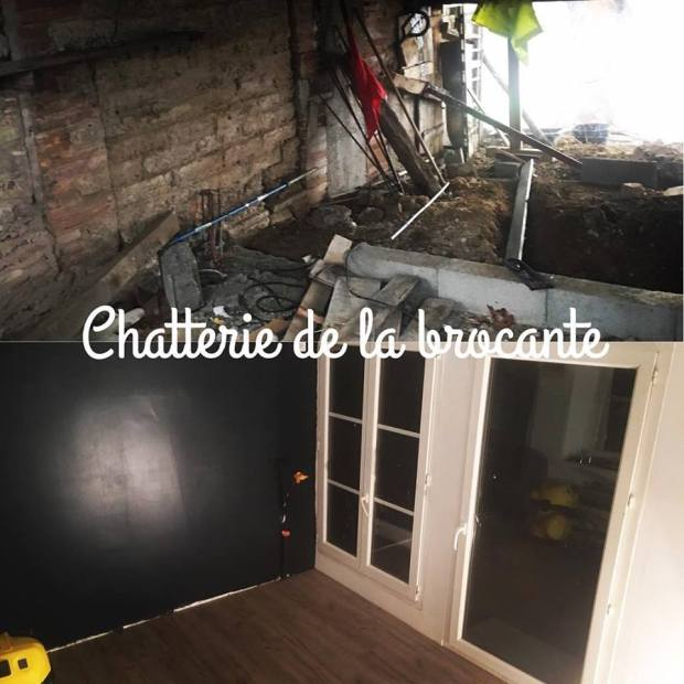 travaux chatterie