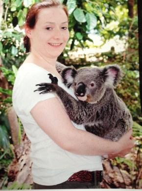 Koala Cuddles at Lone Pine Koala Sanctuary