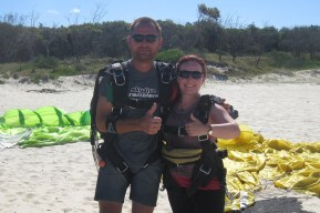 After skydive