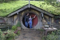 Us at Hobbiton