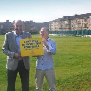 Gary McAllister and Paul Goodwin launch the SFSA