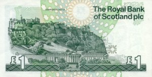 Scottish Pound Note