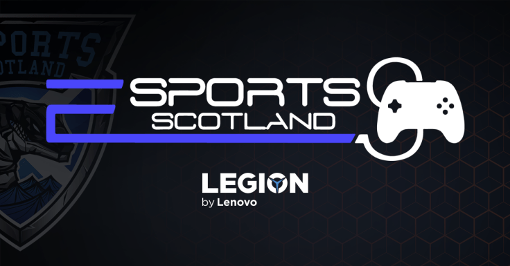 Esports Scotland logo. Esports Cup of Nations.