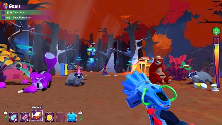 Island Saver Mobile: Gameplay screenshot