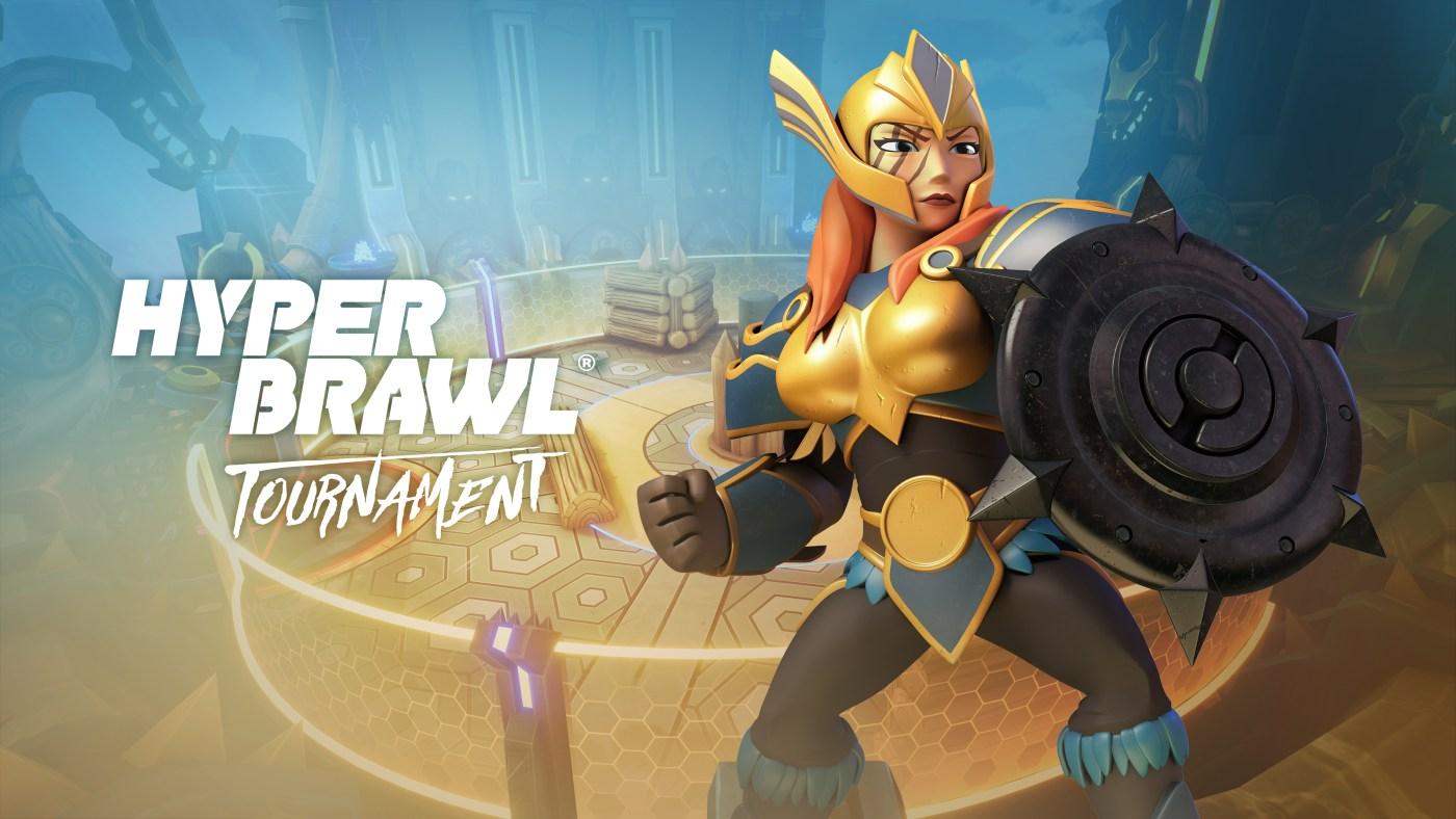 Hyperbrawl Tournament: Key Art