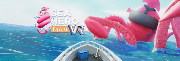 Glitchers. Sea Hero Quest VR.