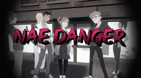 Nae Danger. Splash screen.