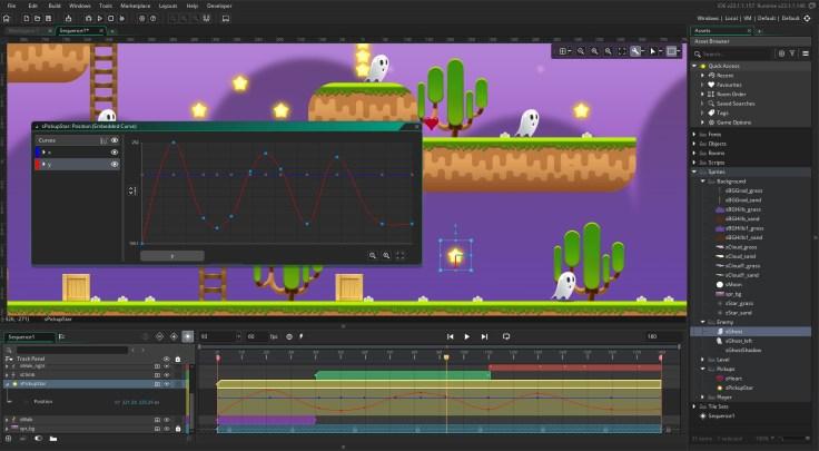 YoYo Games. GameMakerStudio 2.3 screenshot.
