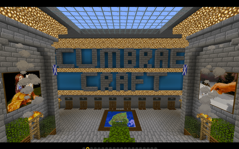 Cumbraecraft. Screenshot