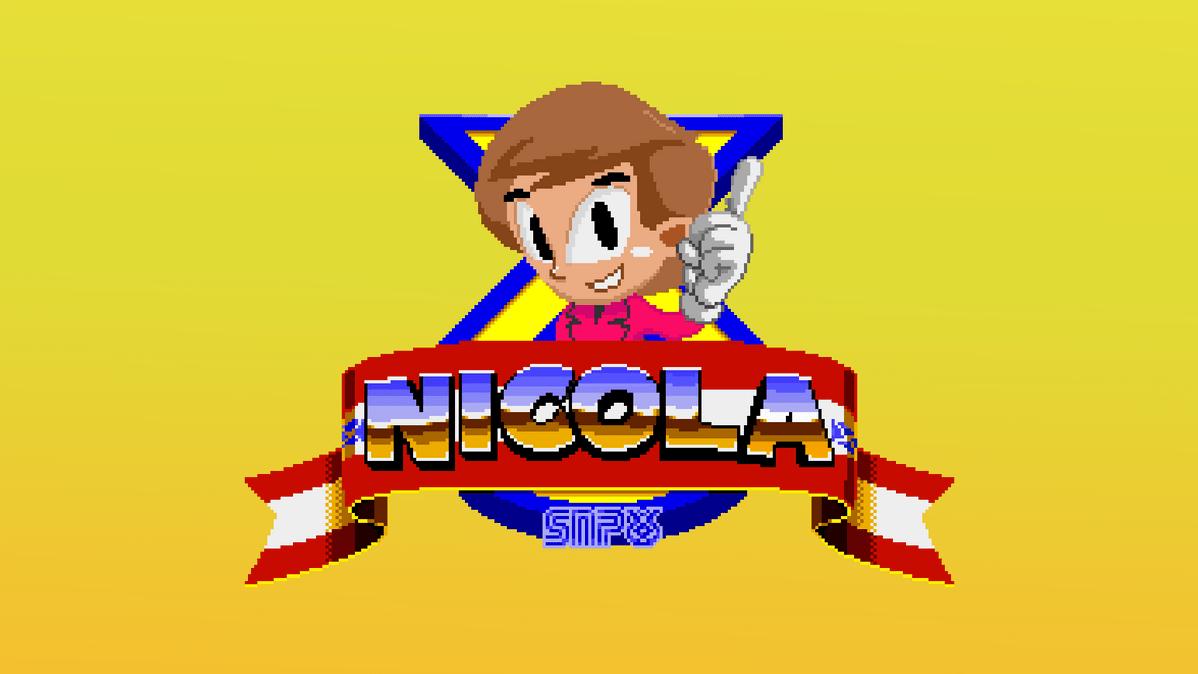 Nicola: Megadrive edition. Political Videogames. Nicola: Megadrive Edition