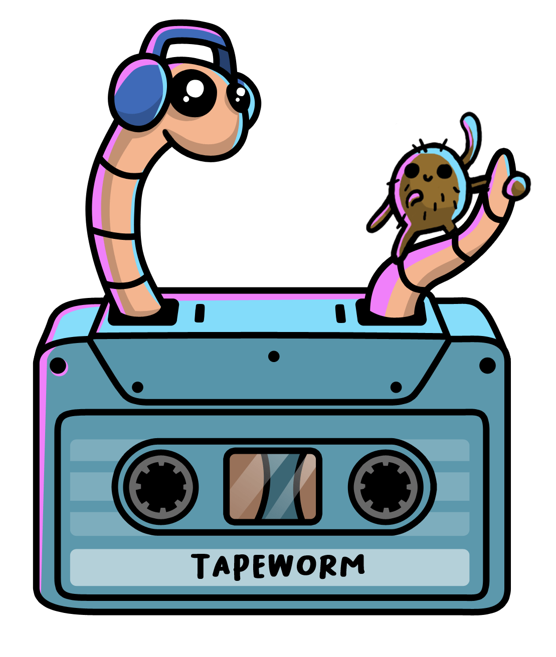 Flea Jump! Tapeworm Disco Puzzle. Out Now.