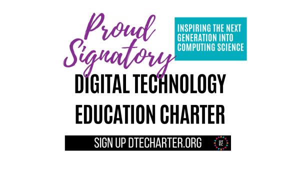 Digital Technology Education Charter - signatory