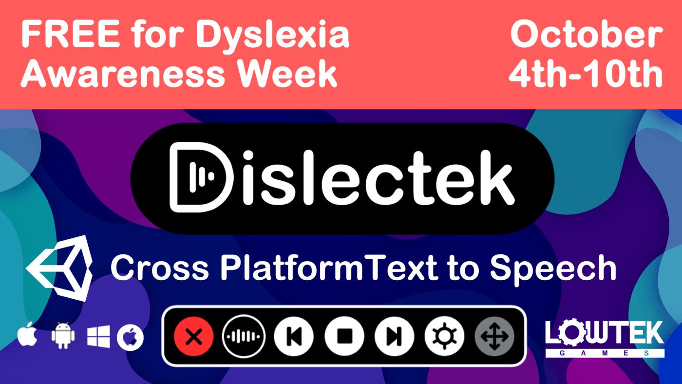 Dislectek - Dyslexia Week 2021 offer