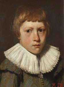 Jamesone, George; Portrait of a Boy; National Trust, Anglesey Abbey; http://www.artuk.org/artworks/portrait-of-a-boy-169806