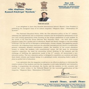 Letters from Dignitaries for Magnum Opus