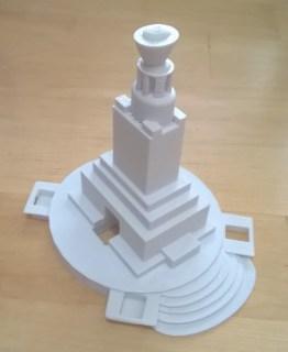 Law Hill War Memorial, Dundee - 3D model
