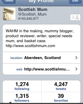 @scottish_mum / My Top 5 Reasons for Twittering
