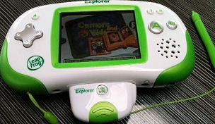 Cybermummy and Leap Frog Leapster Explorer 2011